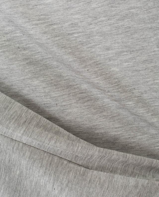 Bateau long-sleeved modal blend top BLUE LEMON
