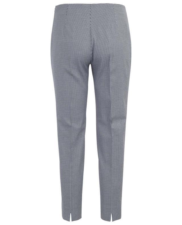 Pantalon en coton à motif pied-de-poule Monia PIAZZA SEMPIONE