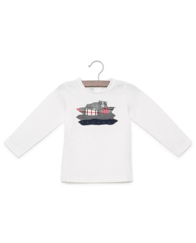 Embroidered long sleeve T-shirt PER TE