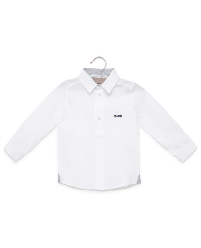 Embroidered cotton shirt PER TE