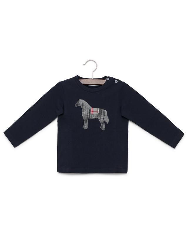 Besticktes Sweatshirt aus Baumwolle PER TE