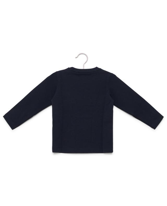 Sweat-shirt brodé en coton PER TE
