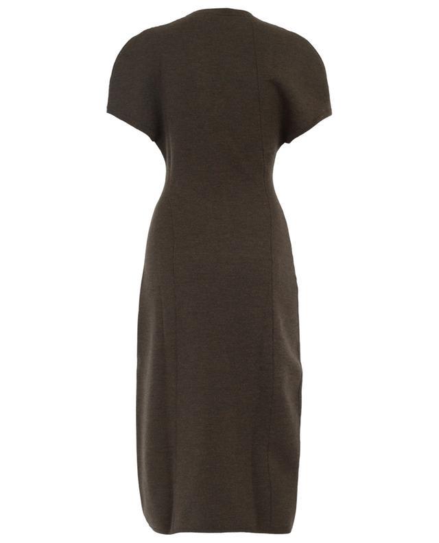 Mittellanges Kleid aus Strech-Wolle VICTORIA BECKHAM
