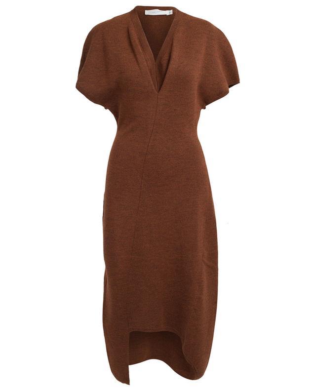 Stretchy wool midi dress VICTORIA BECKHAM