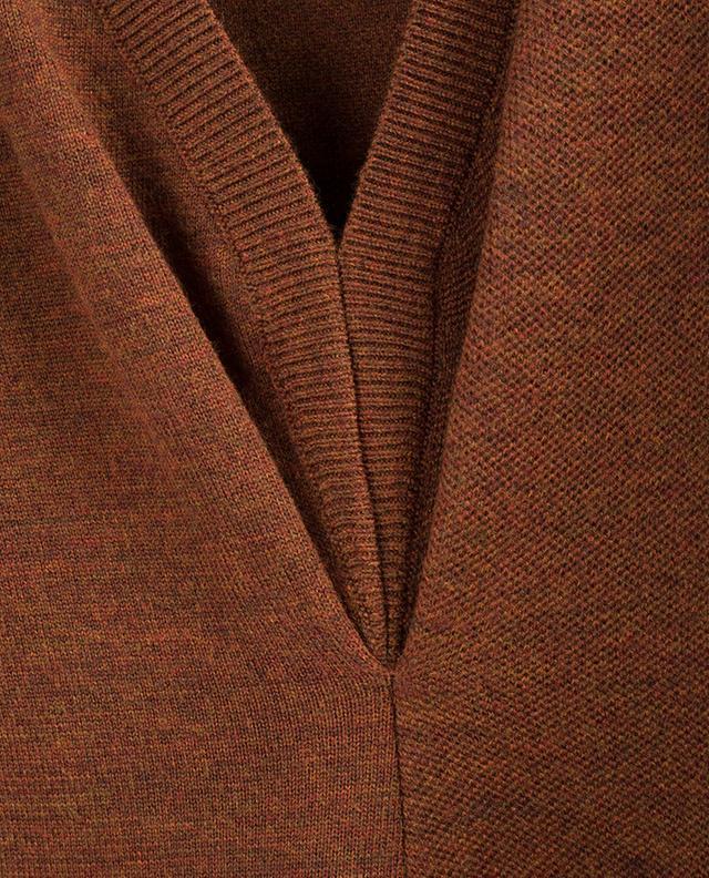 Robe midi en laine stretch VICTORIA BECKHAM