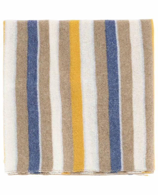 Gestreifter Schal aus Kaschmir FEDELI