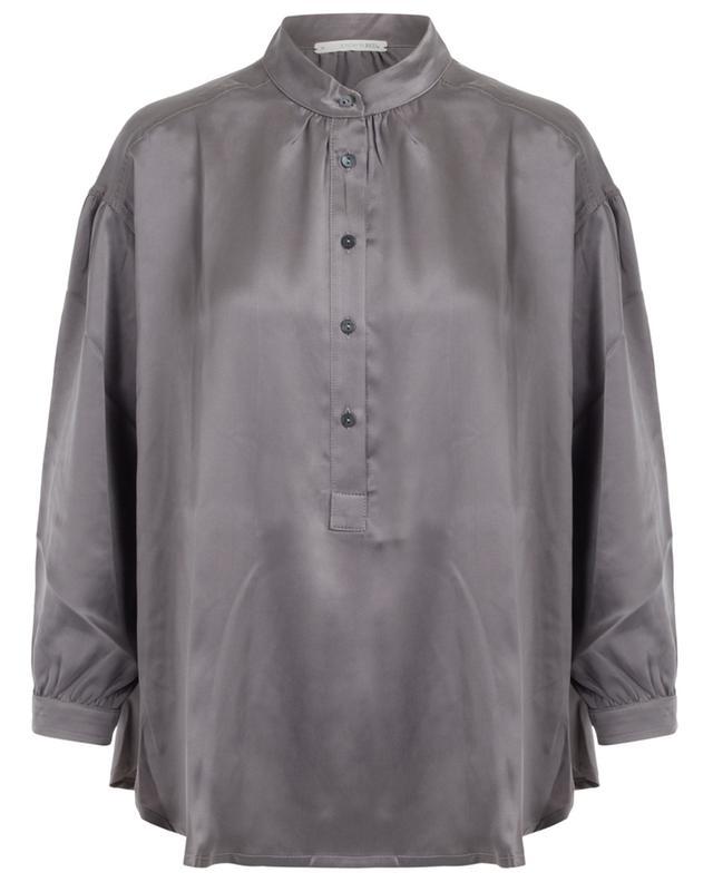 Undine silk shirt SUNDAY IN BED