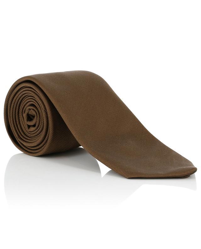 Krawatte aus Seide BORRELLI