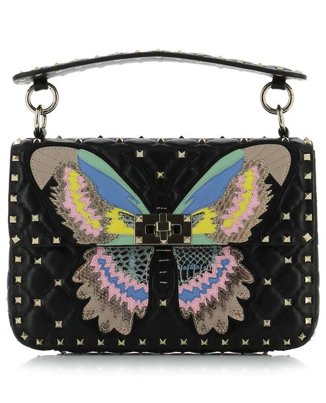 df2b71dd6e VALENTINO Rockstud Spike Medium Butterfly quilted bag - Bongénie-Grieder