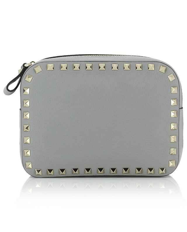 Rockstud grained leather cross-body bag VALENTINO