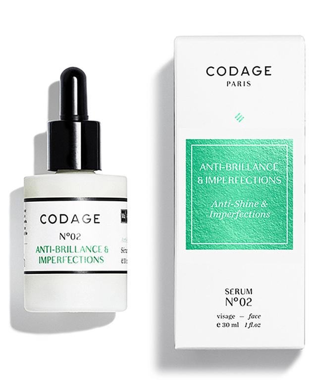 Serum N°02 Anti-shine & Imperfections CODAGE