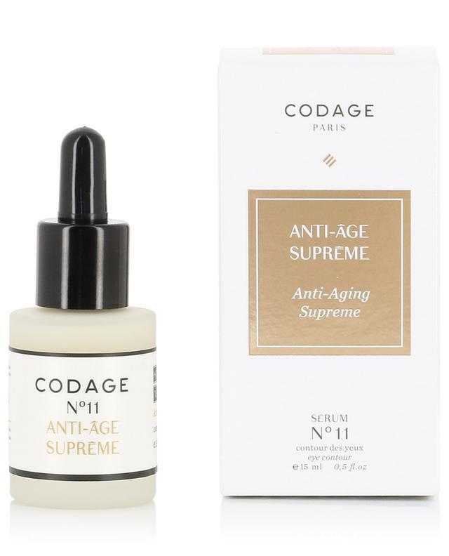 Serum N°11 Yeux Anti-aging Supreme CODAGE