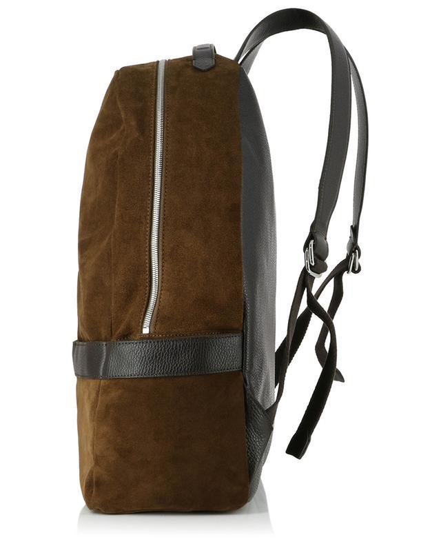 Suede backpack ELEVENTY