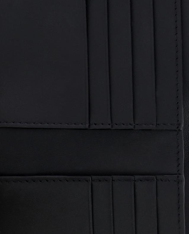 Brieftasche aus glasiertem Jacquard Fendi Stamp FENDI