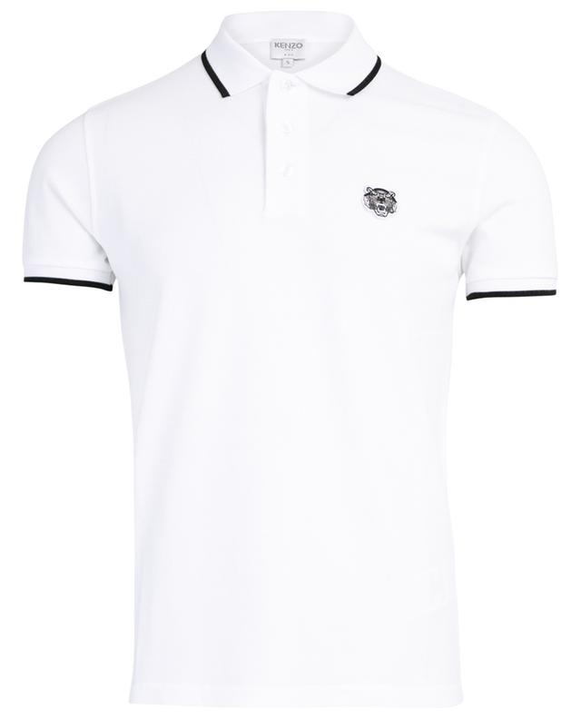 610c6005 KENZO K-Fit Tiger Crest slim fit cotton polo shirt - Bongénie-Grieder