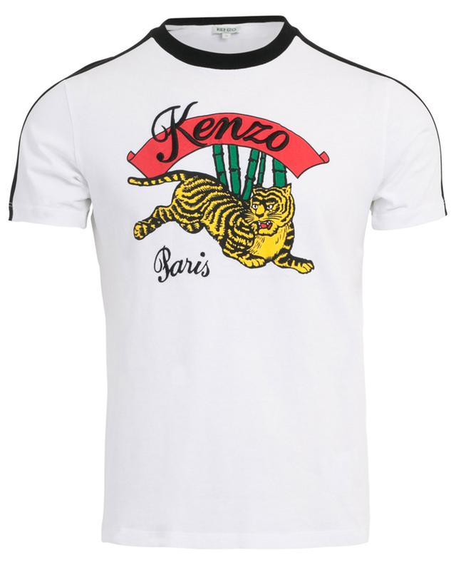 2cb8a450e5 KENZO Bamboo Tiger printed cotton T-shirt - Bongénie-Grieder