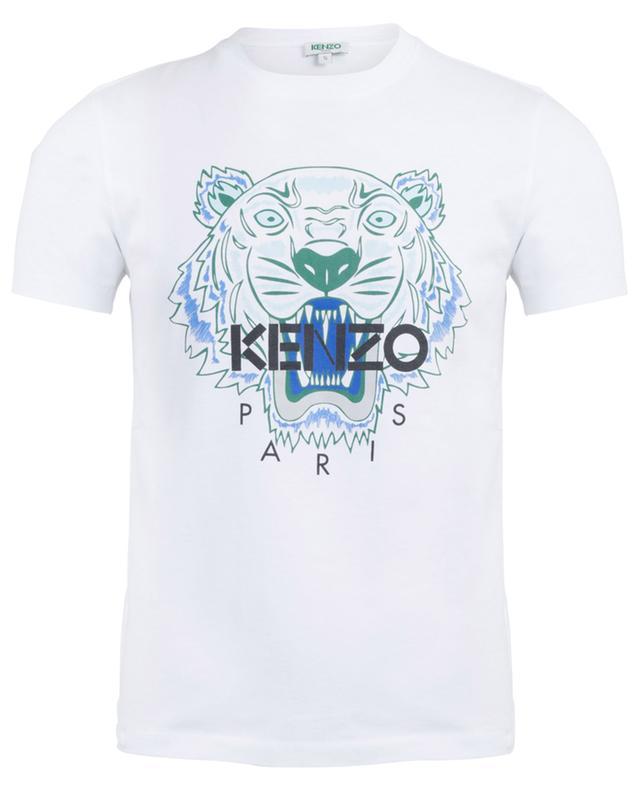 T-shirt imprimé en coton Tiger KENZO