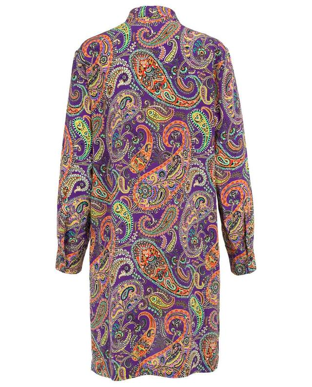 Paisley print adorned shirt dress ETRO