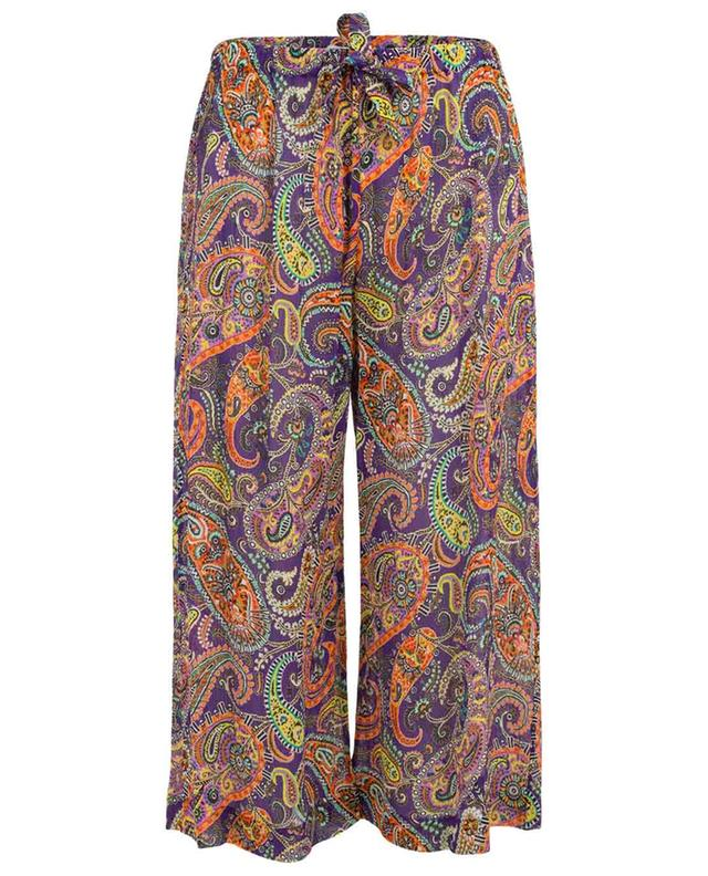 Paisley design beach trousers ETRO