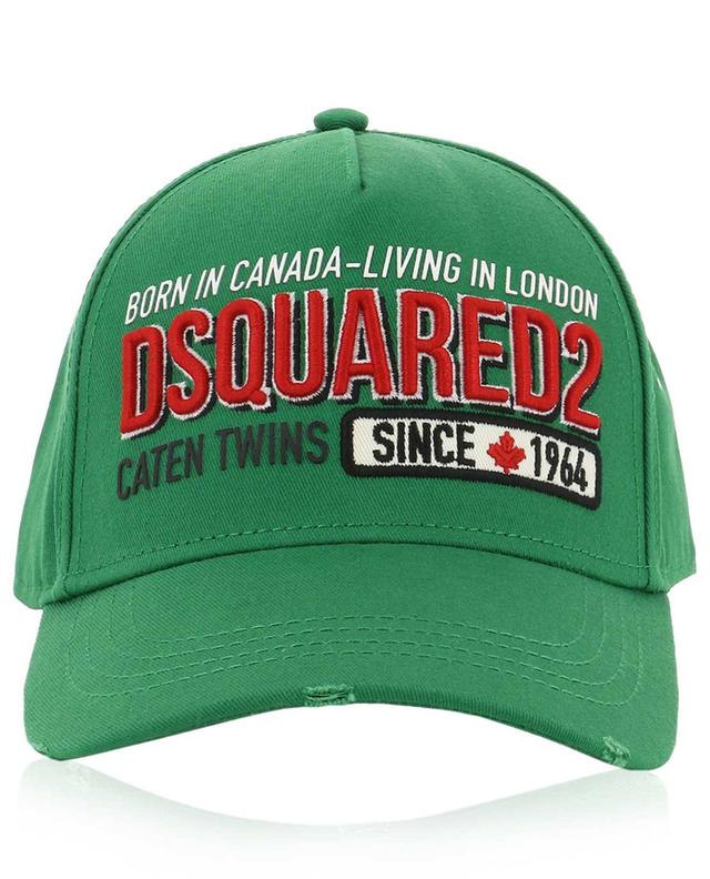 Born in Canada-Living in London baseball cap DSQUARED2