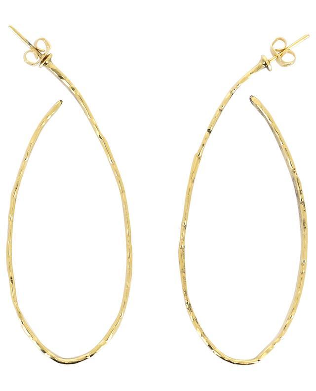 Art 0186 hammered earrings POGGI