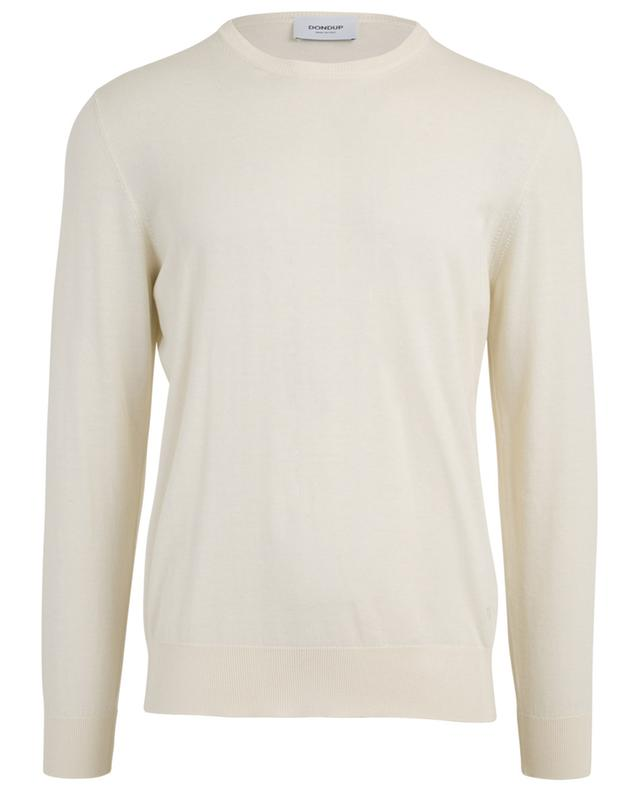 Cashmere and cotton crew neck jumper DONDUP