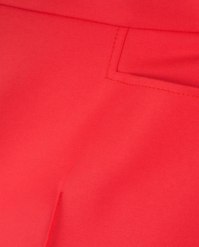 Pantalon raccourci en coton Franca AKRIS PUNTO
