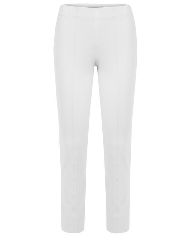 Cotton blend slim fit trousers VINCE