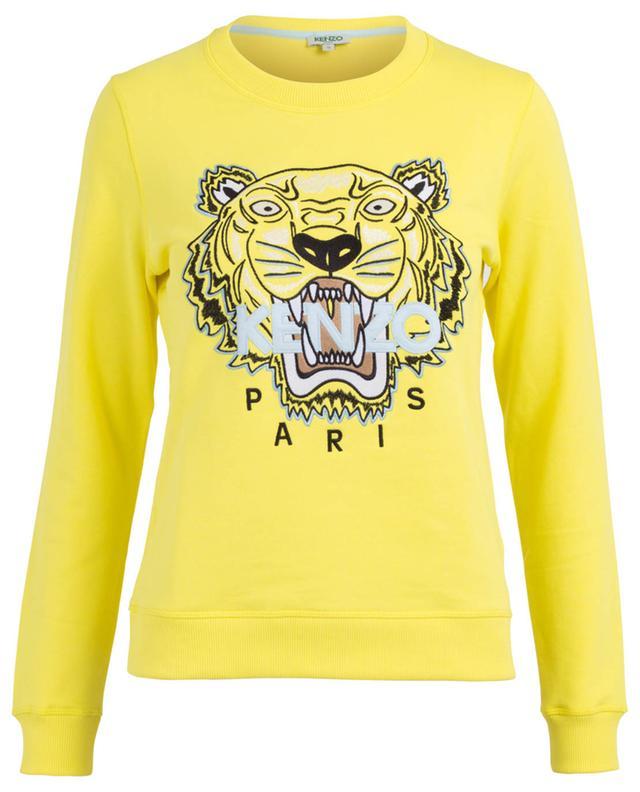 Sweat-shirt en coton Tiger Classic KENZO