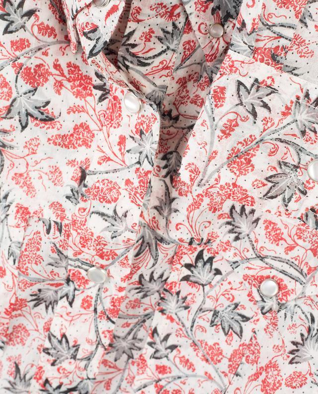 Chemise en voile de coton fleuri Emelina ISABEL MARANT