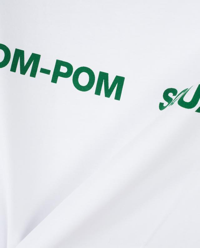 T-shirt en coton Pom-Pom Squad ZOE KARSSEN