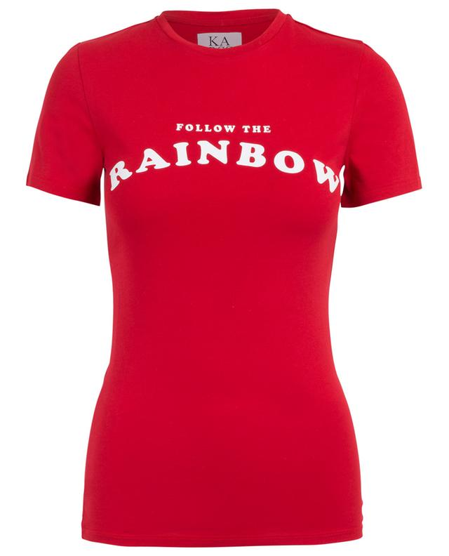 T-shirt en coton Follow The Rainbow ZOE KARSSEN