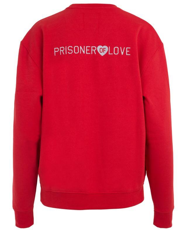 Sweat-shirt en coton mélangé Prisoner of Love ZOE KARSSEN