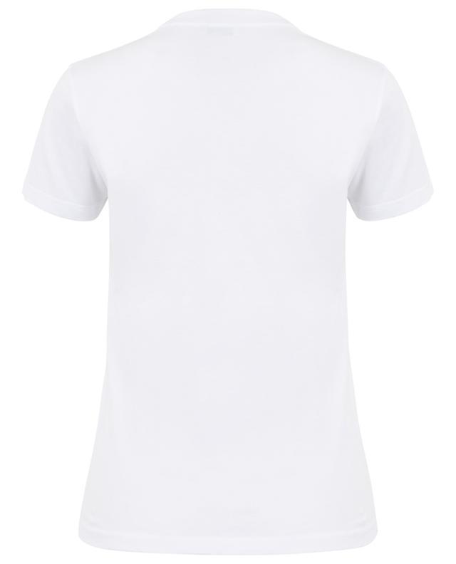 Schmales T-Shirt mit Logo Copyright BALENCIAGA