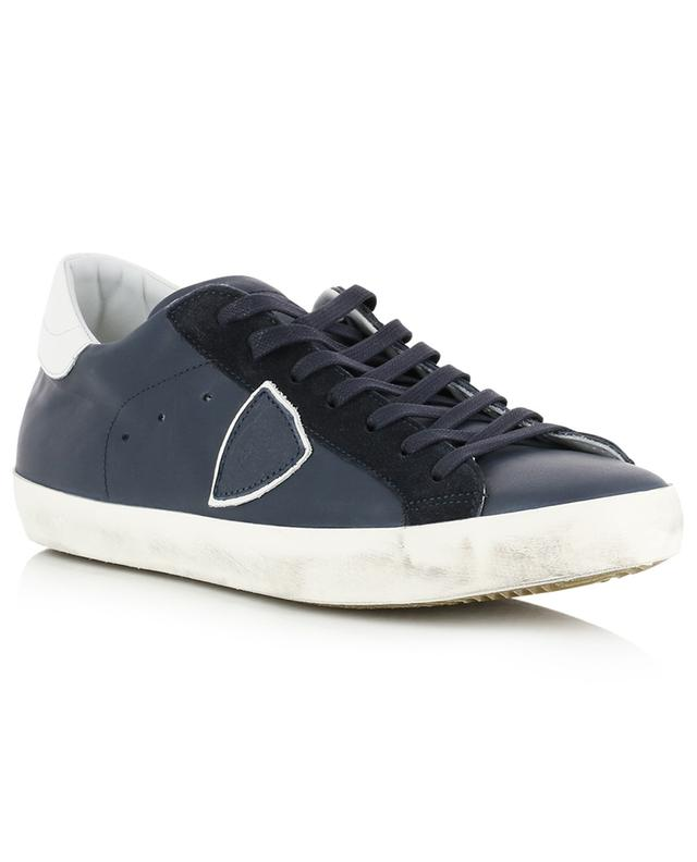 Niedrige Sneakers aus Leder Paris PHILIPPE MODEL
