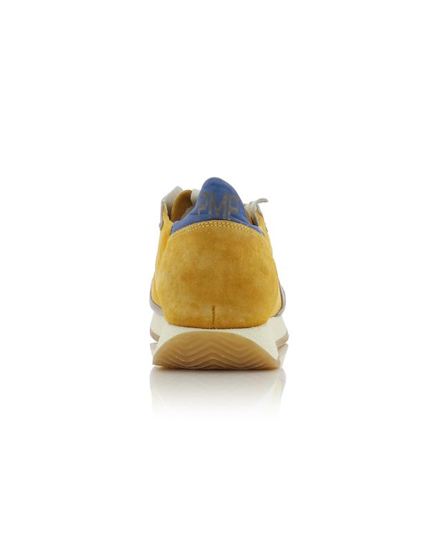 Sneakers aus Nylon und Wildleder Monaco Vintage 70 Years PHILIPPE MODEL