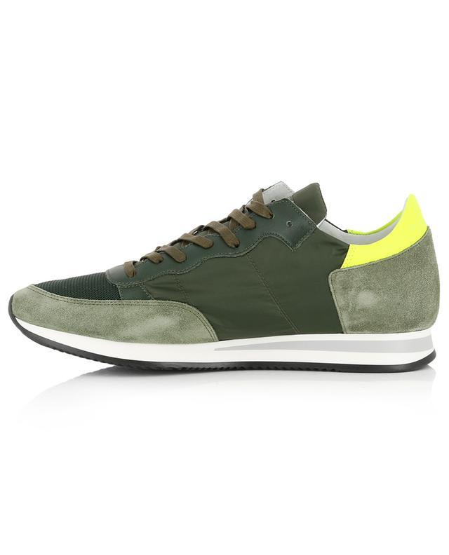 Sneakers aus Nylon mit Neon-Detail Tropez PHILIPPE MODEL