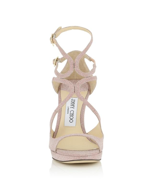 Sandales scintillantes à talon Lance PF 100 JIMMY CHOO