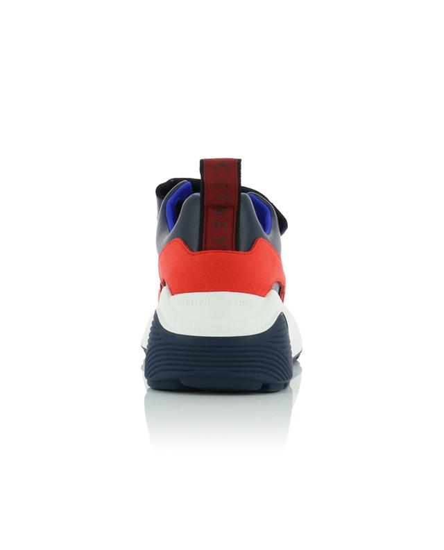Eclypse neoprene, synthetic leather and suede sneakers STELLA MCCARTNEY