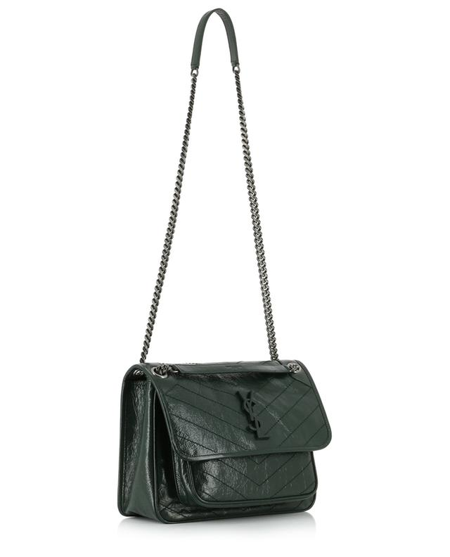 Niki M quilted vintage leather bag SAINT LAURENT PARIS