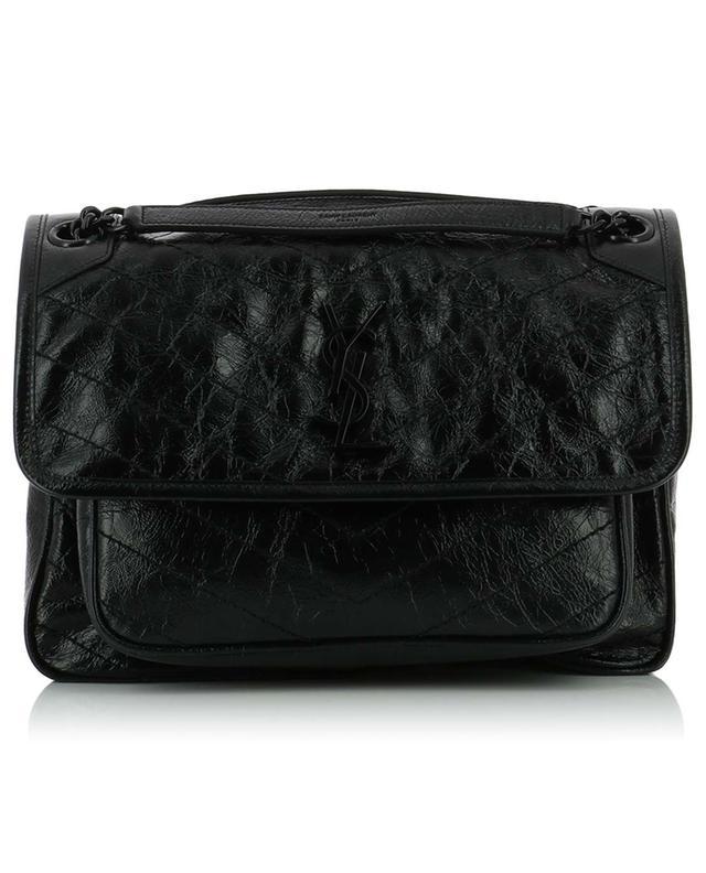 ef9329521b SAINT LAURENT PARIS Niki M quilted vintage leather bag - Bongénie ...