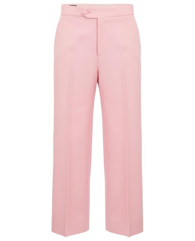 Pantalon large raccourci en laine GUCCI