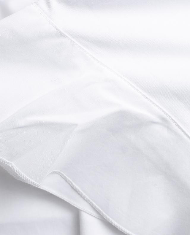 T-shirt en coton à volants Flute VICTORIA BECKHAM