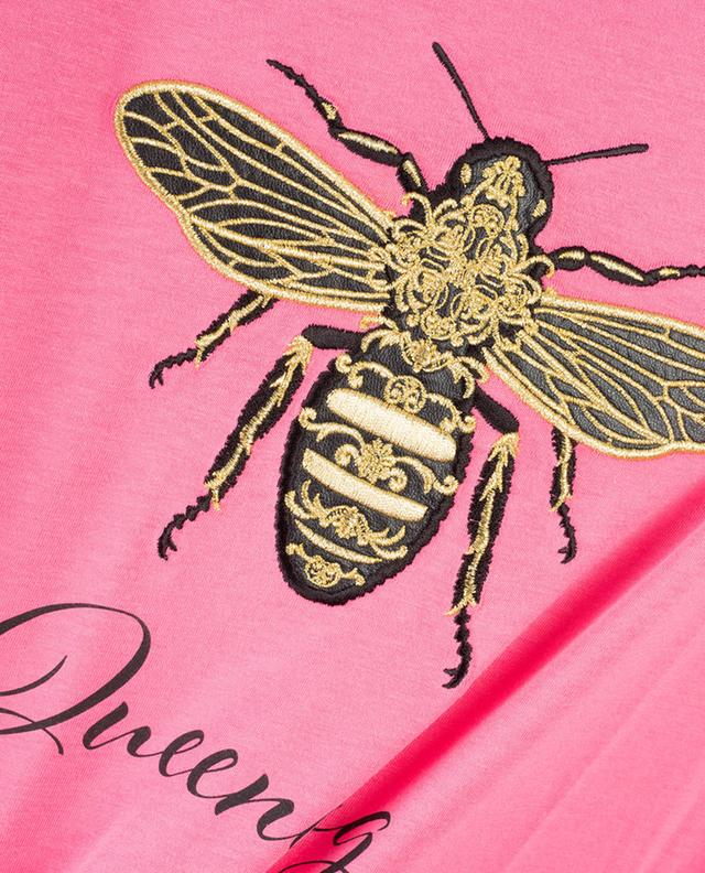 T-shirt à message abeille Queening QUANTUM COURAGE