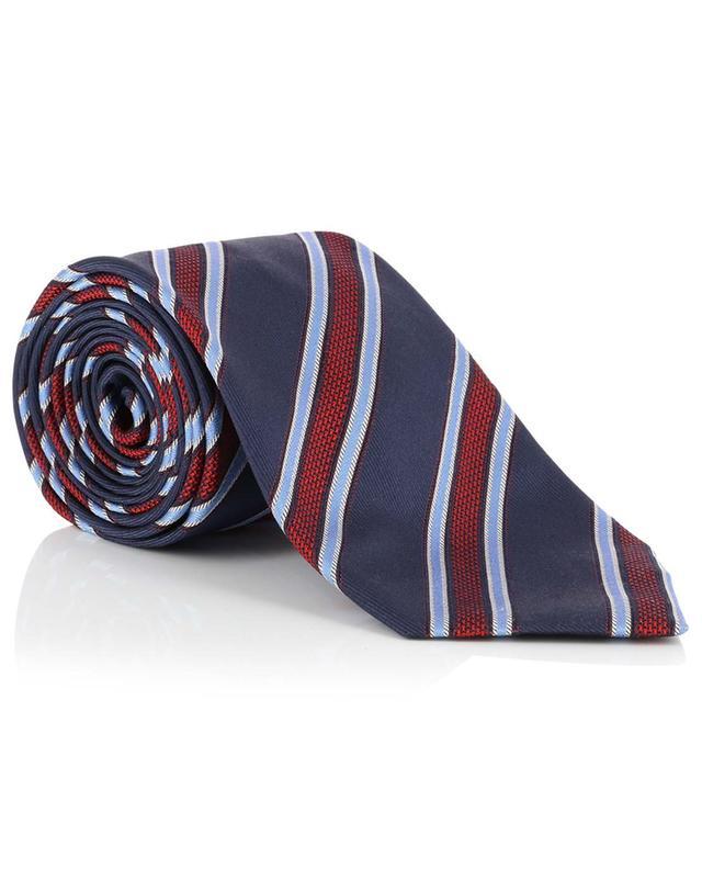 Cravate en soie rayée BRIONI