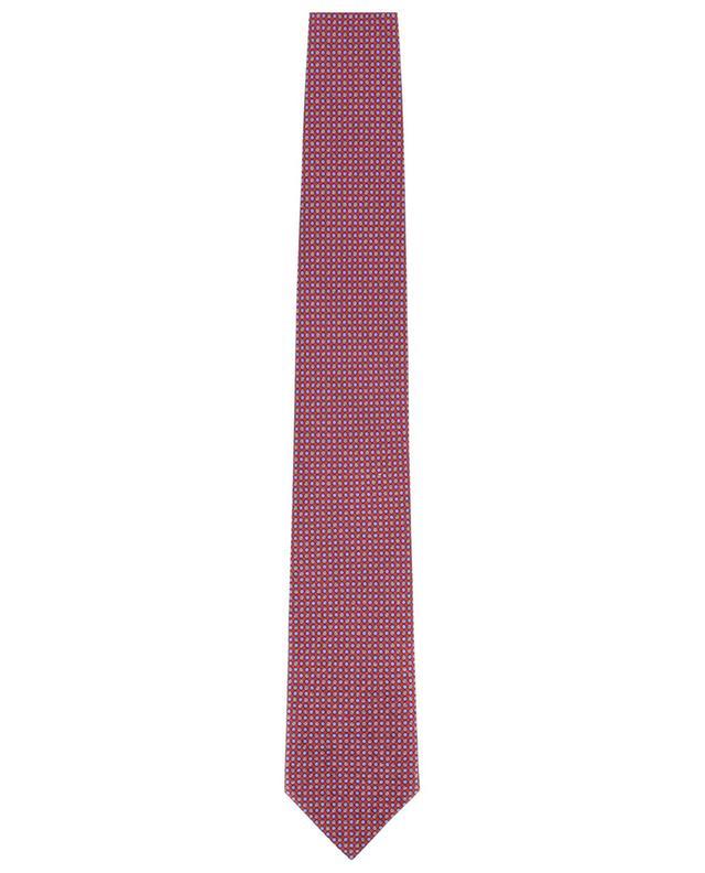 Cravate à pois en soie BRIONI