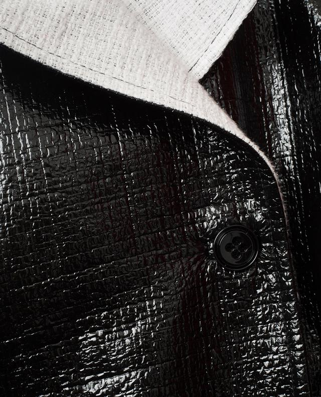 Trench en tweed verni Infinite Gloss DOROTHEE SCHUMACHER