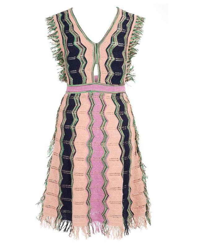 Ärmelloses Kleid in Häkeloptik M MISSONI