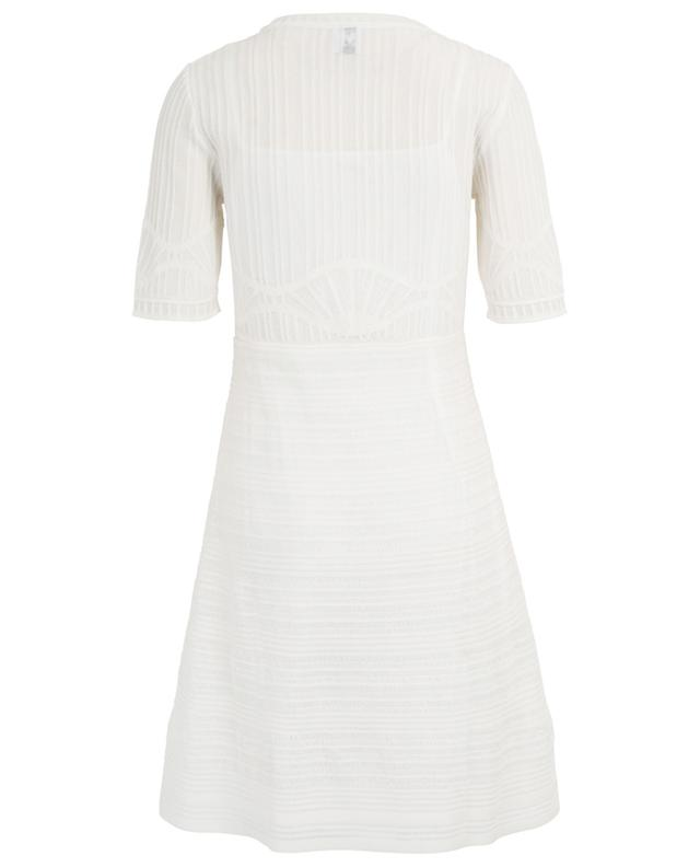 Kurzes Kleid im geometrischen Strick M MISSONI
