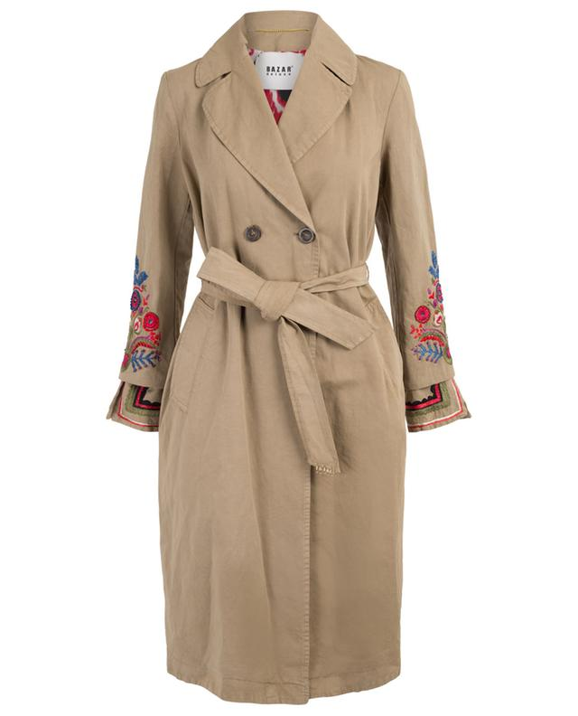 Folk embroidered lightweight coat BAZAR DELUXE